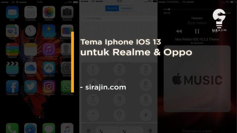 √ Tema Iphone IOS 13 Untuk Realme Tembus Aplikasi Terbaru 2021