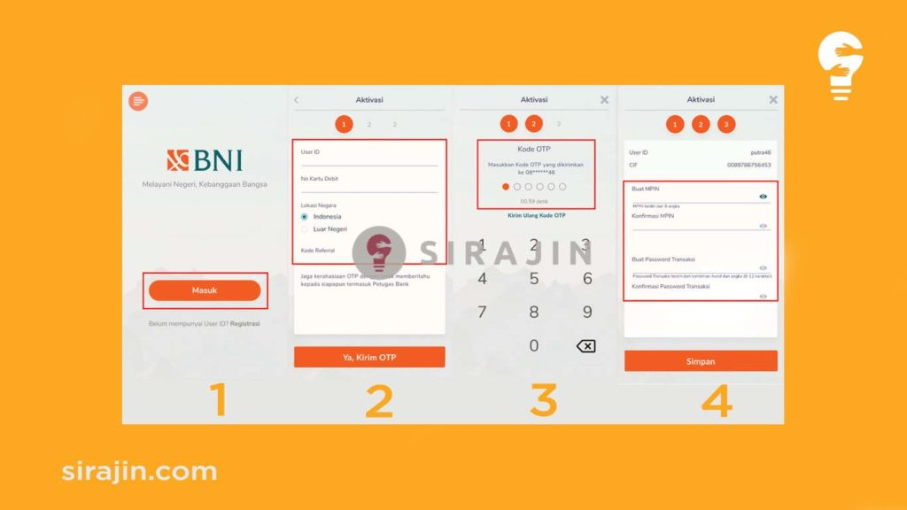 Cara Aktivasi BNI Mobile Banking Terbaru 2020
