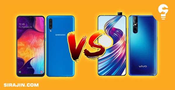 Perbandingan Spesifikasi VIVO V15 dan Samsung A50