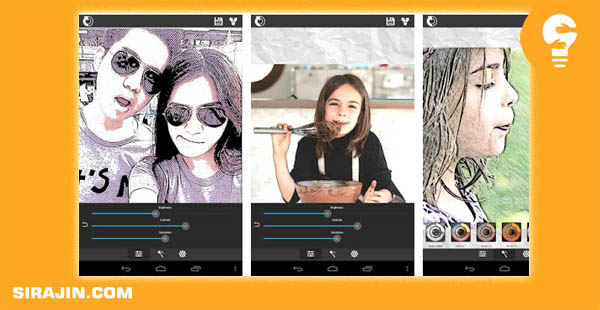 Aplikasi Sketch Me! Sketch & Cartoon