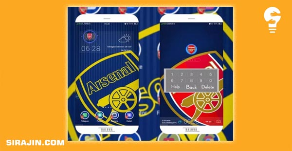 Arsenal Theme for Android