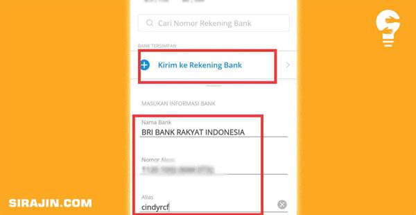 Cara Bayar Shopee Pakai DANA Via Transfer Bank