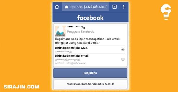 Cara Mengatasi FB dibajak orang lain