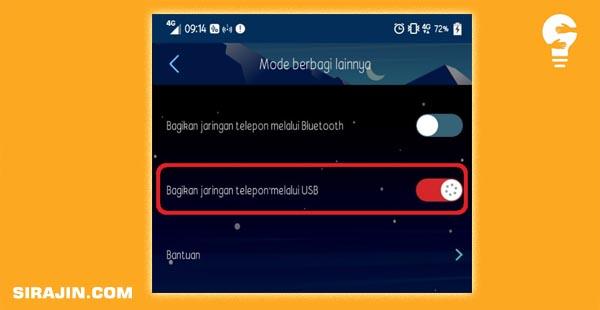 Cara Menyambungkan Internet dari Vivo ke PC
