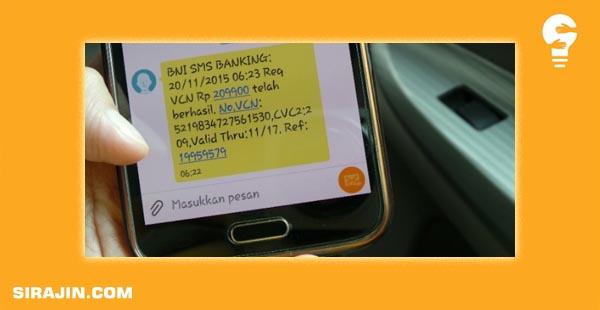 Cara Transfer BNI ke BRI via SMS Banking