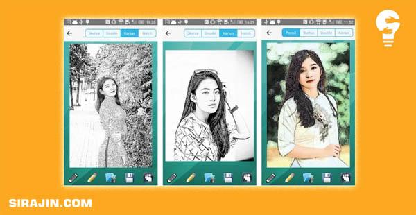 Daftar Aplikasi Sketsa Foto Android Terbaik