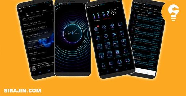 Dark Theme For Smartphone