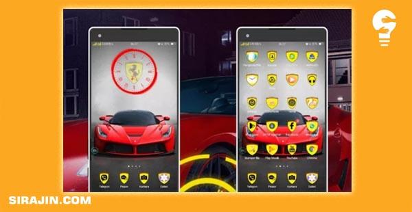 Tema mobil untuk hp android