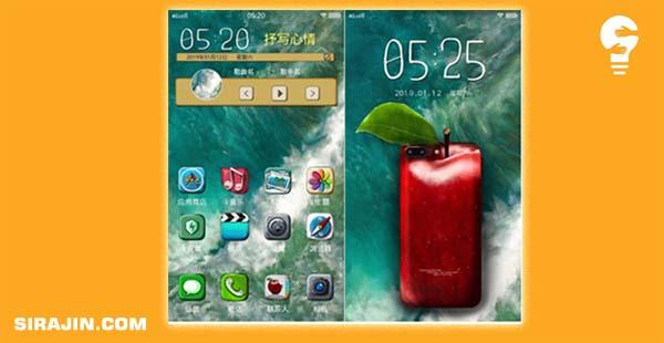 Tema IOS 9 EMBOS Vivo Smartphones