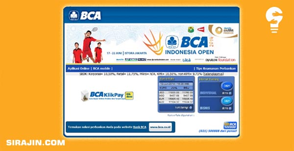Mengatasi Lupa Password Internet Banking BCA