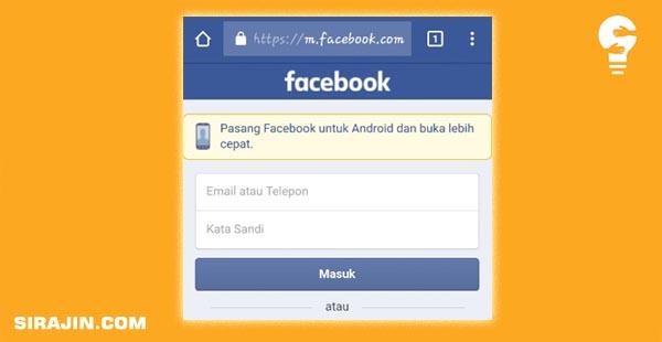 Mengambil FB orang lain