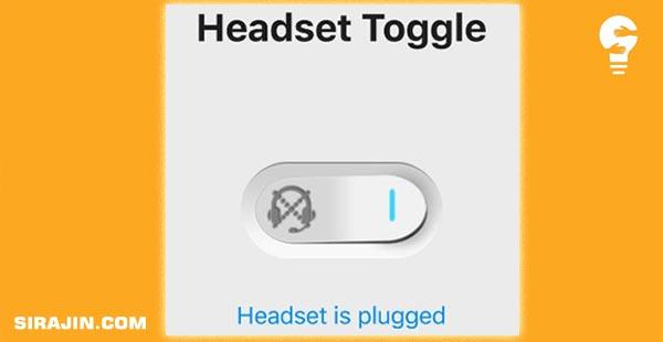 Menghilangkan Logo Headset dengan Headset Toggel