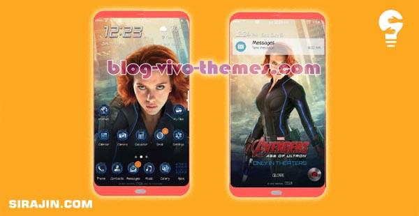 Tema Avenger Versi Black Blue