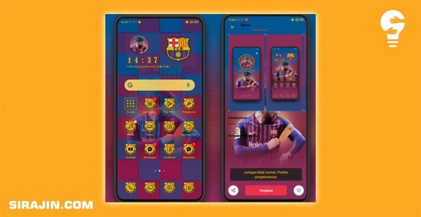 Tema Barcelona Untuk Oppo Realme