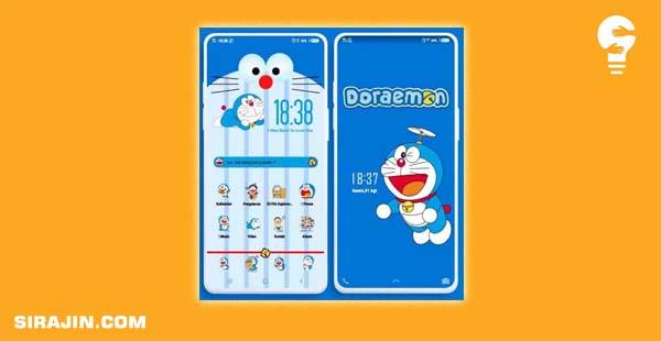 Tema Doraemon Untuk Vivo ITZ
