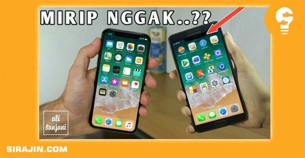 Tema Iphone IOS Untuk Samsung all type