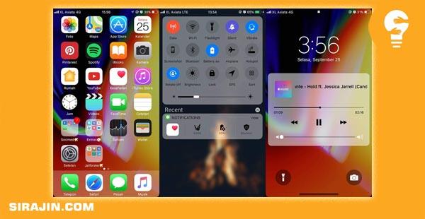 Tema Iphone Ios 12 Untuk Samsung