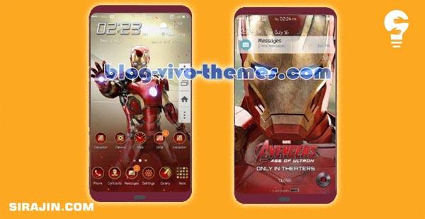 Tema Iron Man Theme forr Samsung J2