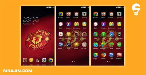 Tema Manchester Elegan untuk Android