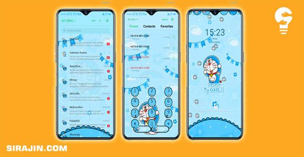Tema OPPO A37 Tembus Akar Doraemon