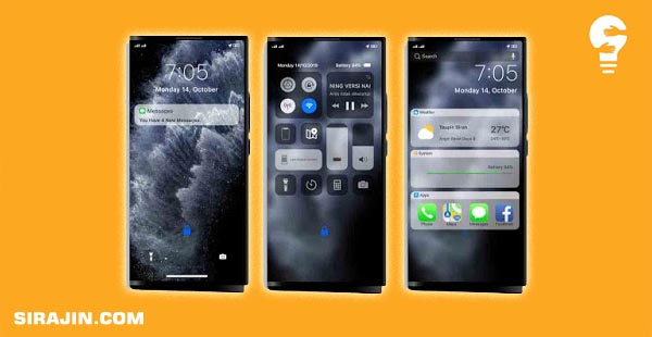 Tema Oppo Iphone IOS 7 Theme For Realme & Oppo