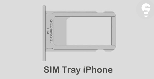 CEK IMEI di SIM Card Adaptor iPhone